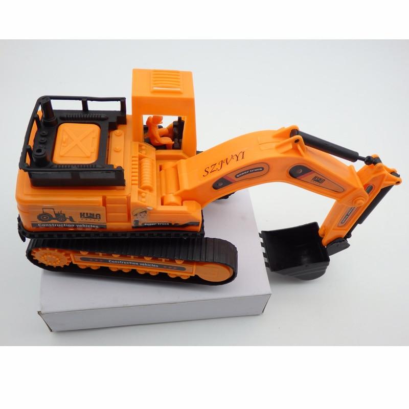 Nuova simulazione di inerzia Escavatore inerziale per autocarro Giocattoli Modello di simulazione Giocattoli per bambini