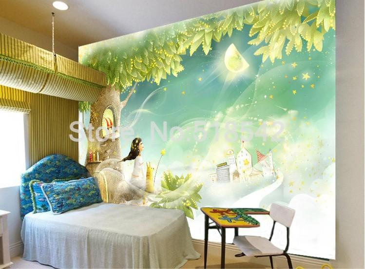 HTB1rFnGKpXXXXabaXXXq6xXFXXXj Custom Photo Wallpaper 3D Dream Cartoon Children Room Living Room Bedroom Home Decoration Wall Art Mural Wallpaper For Walls 3 D