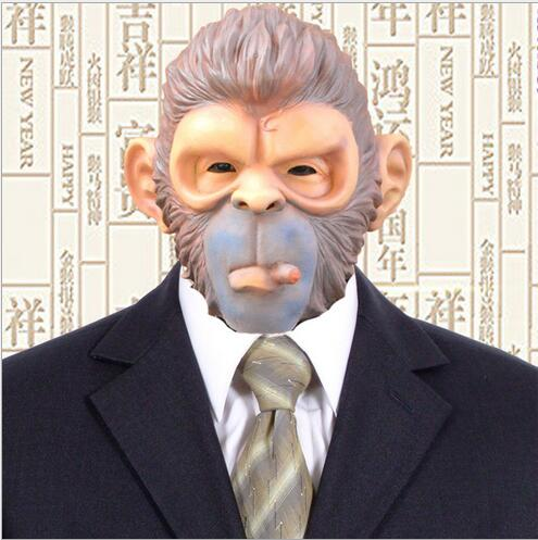 Boys Costume Accessories Costumes & Accessories Friendly Latex Full Face Mask Buy One Get One Free Free Shipping King Kong Gorilla Big Ears Monkey Mask Funny Animal Halloween Masquerade Party Eco