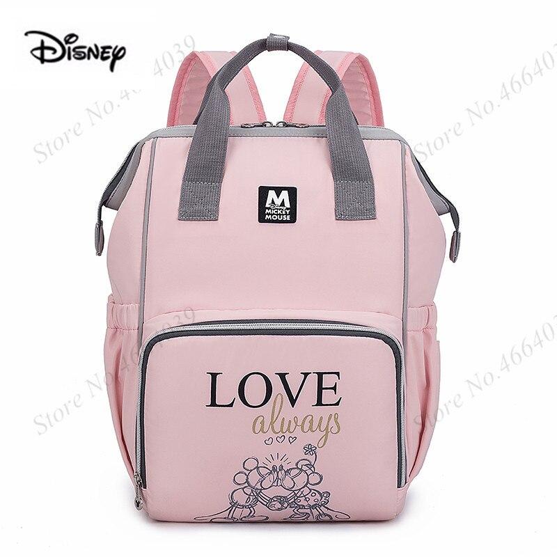 New Arrival Disney Baby Care Diaper Bag Pregnant Women Mummy Travel Nappy Bag Large Capacity Maternity Nursing Bag Organizer