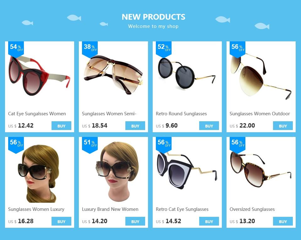 122ca4677 إيثان الفاخرة النظارات الشمسية النساء عدسات مستديرة نظارات شمسية السيدات  أزياء العلامة التجارية مصمم نظارات عارضة القيادة UV400 الساخن بيع