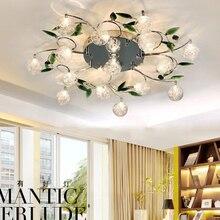 6/10/15 lights Crystal chandelier modern For Living-Room Bedroom and Chrome Flushmount Chandelier