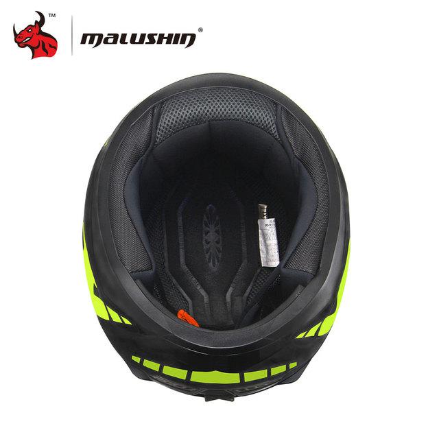 MALUSHUN Unisex Motorcycle Helmet Flip Up Helmet Open Face Moto Motocross Helmet Capacetes De Motociclista Novelty Casque Moto