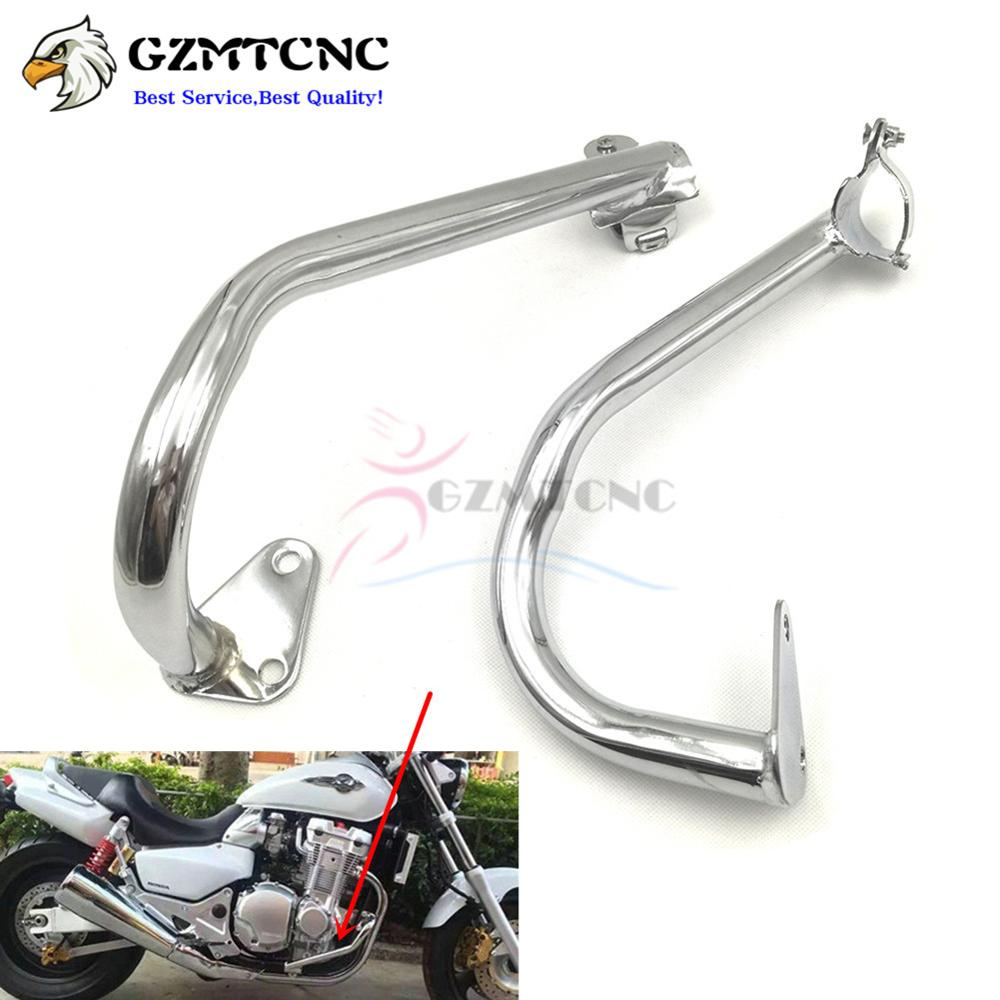 Cb1300 X4 Motorcycle Engine Guard Crash Bar Fairing Frame Protector For Honda X 4 1997 2003 Cb 1300 1998 1999 2000 2001 2002 In Covers Ornamental