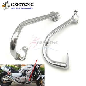 CB1300 X4 Motorcycle Engine Guard Crash Bar Fairing Frame Protector for Honda X-4 1997 - 2003 CB 1300 1998 1999 2000 2001 2002(China)