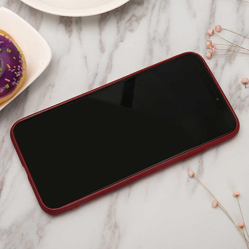 Capa traseira simples ultrafina para iphone, para iphone 6 6s 7 8 plus x xs max xr 5 5S se funda coque do telefone do coração do amor do silicone macio