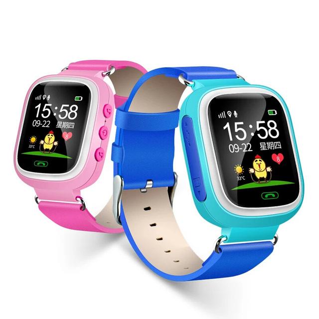 """Segurança smart watch para o bebê 1.44 """"ecrã táctil a cores com anti-perdido tracker real-time local que chama o telefone remoto monitor de sos"""