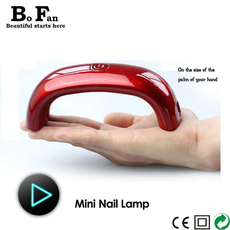 Free shipping C2 Mini Nail tools LED light therapy lamp gel nail ...