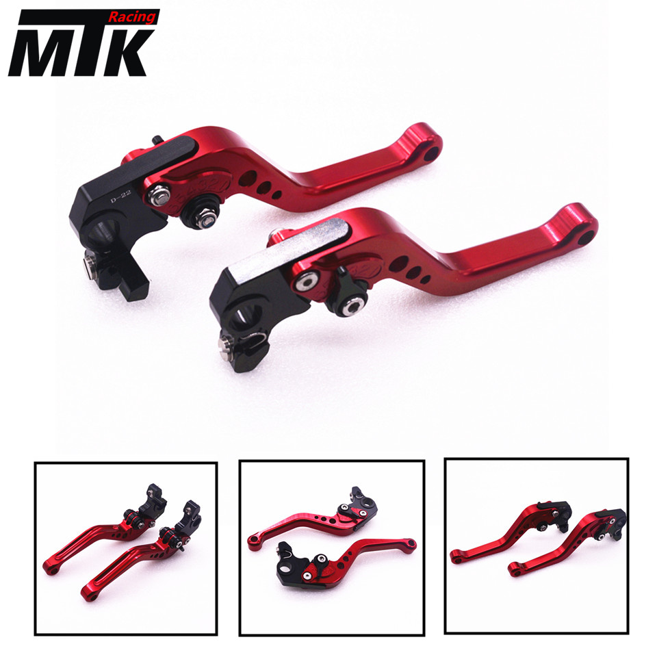 MTKRACING Motorbike Short CNC Brake Clutch Levers For Yamaha YZF R1 R6 R6S CANADA VERSION /EUROPE VERSION adjustable folding extendable brake clutch levers for yamaha r6s usa version r6s canada version fz1 fazer 8 colors