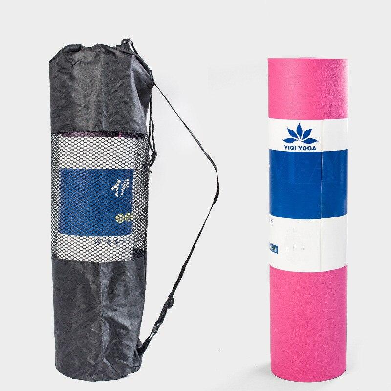 183 cm * 61 cm * 10 m TPE tapis de Yoga de haute qualité épaissir et élargir le tapis de musculation d'entraînement sport tapis Flexible avec sac, HB036