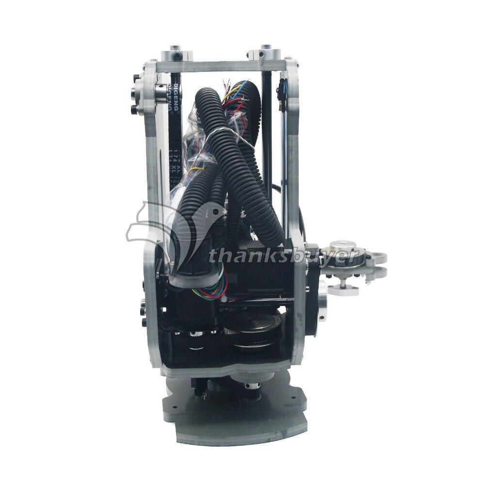 High Quality SCARA Robot Mechanical Arm Hand Manipulator 4 Axis Stepper  Motor Assembled No Controller