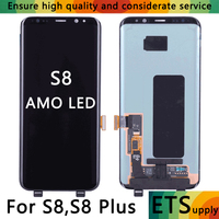 100 Test Work Test Super Amoled Compatible For Samsung Galaxy S8 G950 S8 Plus LCD Touch