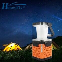 Светодиодный фонарь HoneyFly G1 с соленой водой для зарядки морской воды, портативный дорожный светильник, аварийная лампа, USB, для кемпинга, пеше...
