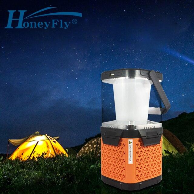 HoneyFly G1 Salt Water LED Lamp Lantern Brine Charging Sea Water Portable Travel Light Emergency Lamp USB Camping Hiking Outdoor
