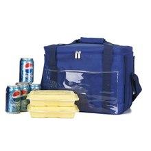 Apollo kühltasche großen kapazität lebensmittel-lieferbeutel 34l große kapazität eisbeutel verschluss versiegelt aluminiumfolie liner thermische taschen