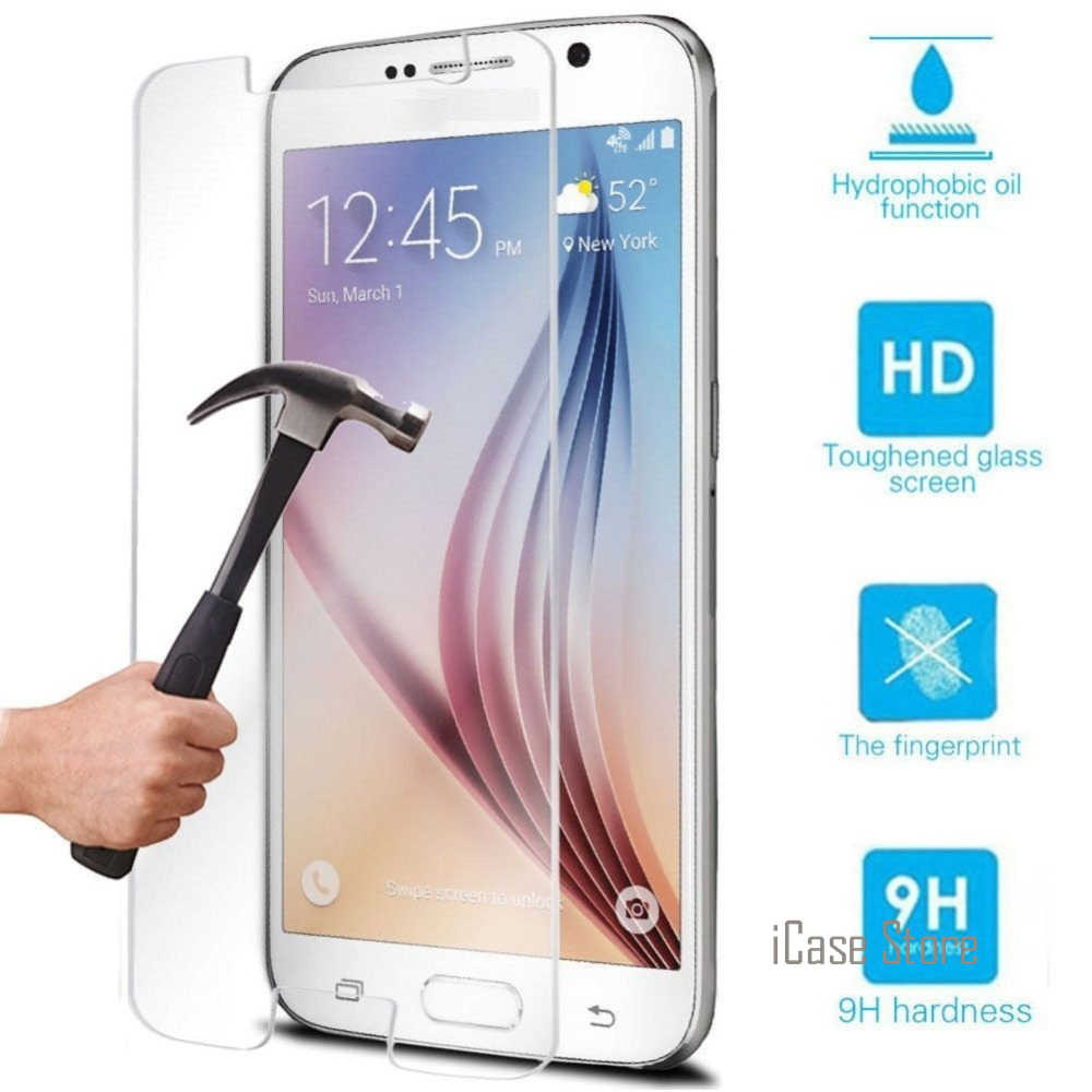 0c33dbf192a 9H Premium Tempered Glass Screen Protector For Samsung Galaxy S3 S4 S5 S6  A3 A5 J3