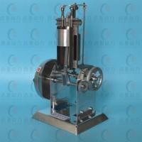 Metalen eencilinder verbrandingsmotor viertakt dieselmotor model natuurkunde experiment onderwijs instrument J31009