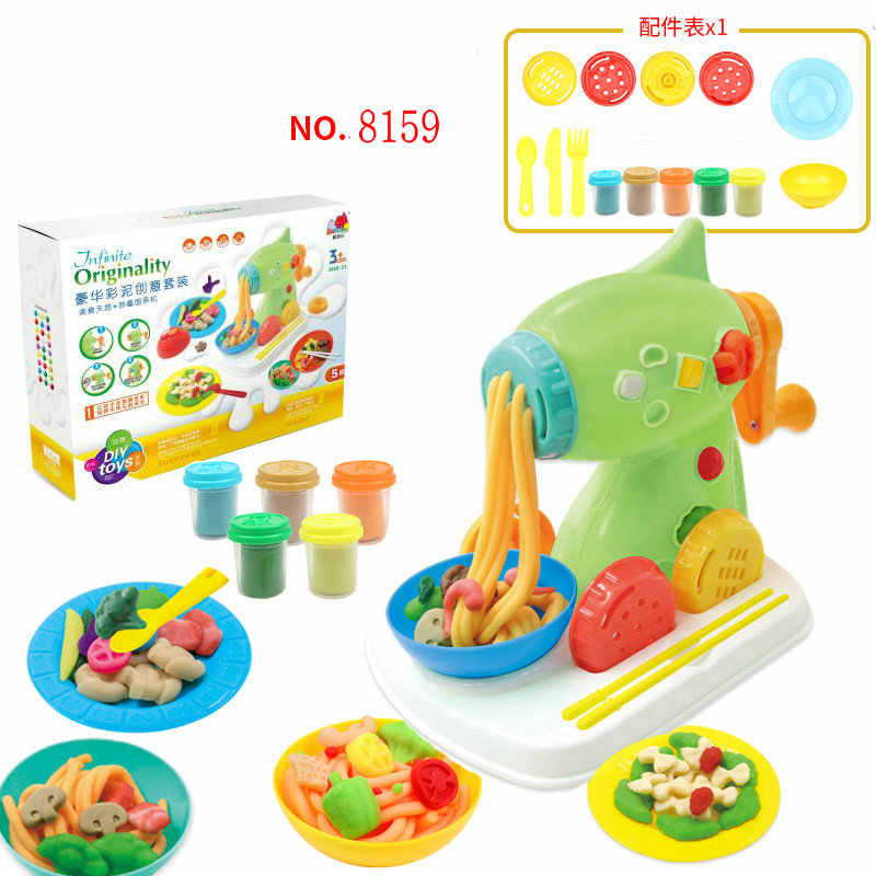 6d8d6c16c ... Modeling Clay Diy Slime Set Plasticine and Tool Kit Soft Clay ICE  CREAM/BBQ/ ...