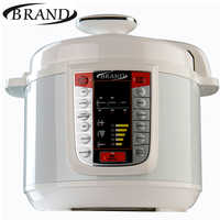 BRAND6051 Electric Pressure Cooker, 5L , Multivarka Cooking fast Rice cooker, Digital control, multicooker