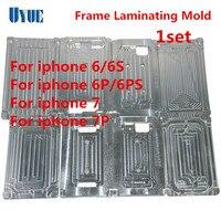 2Pcs Set Frame Laminating Mold Refurbishment Mould Metal Mold For IPhone6 6S 6Plus 6S Plus 7