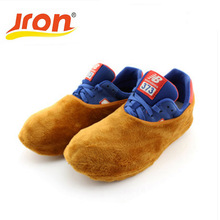 5 Pairs Shoes Cover Solid Color Outdoor Rain Overshoe Fabric Waterproof Wear-resistant Reusable Shoes Cover Indoor Dust Proof