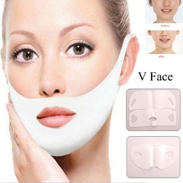 Miracle V-Shaped Lifting Facial Masks Neck Mask Eliminate Edema Firming Thin Slimming Bandage Peel-off Mask Skin Care 3