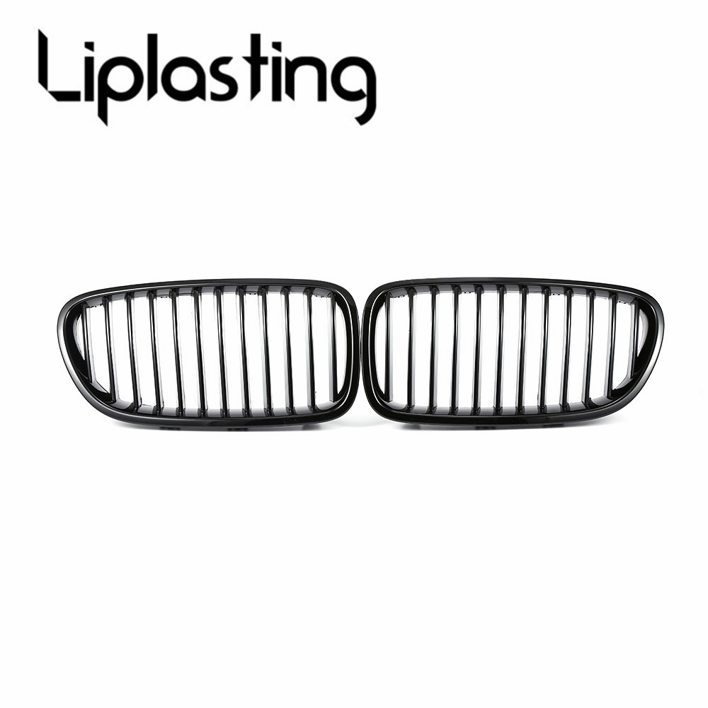 Car-styling Front Bumper Grill Front Kidney Grille Glossy Black for BMW F10 F18 528i 530i 535i 2010-2014 Racing Grills XNC brand new for bmw e61 air suspension spring bag touring wagon 525i 528i 530i 535i 545i 37126765602 37126765603 2003 2010