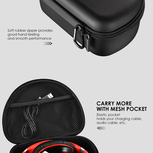 Image 4 - Mpow Headphone Carrying Case Universal Outdoor Storage Protective Bag Pouch for Foldable Headsets Over ear Foldable Headphones