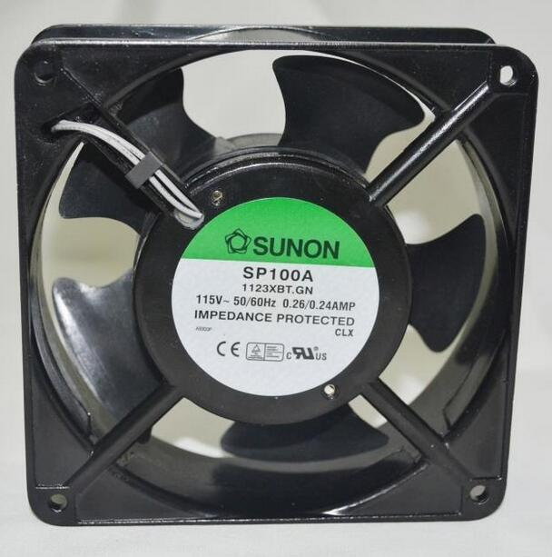 Wholesale: original SUNON SP100A 1123XBT.GN 12038 115V 120*120*38MM cabinet fan