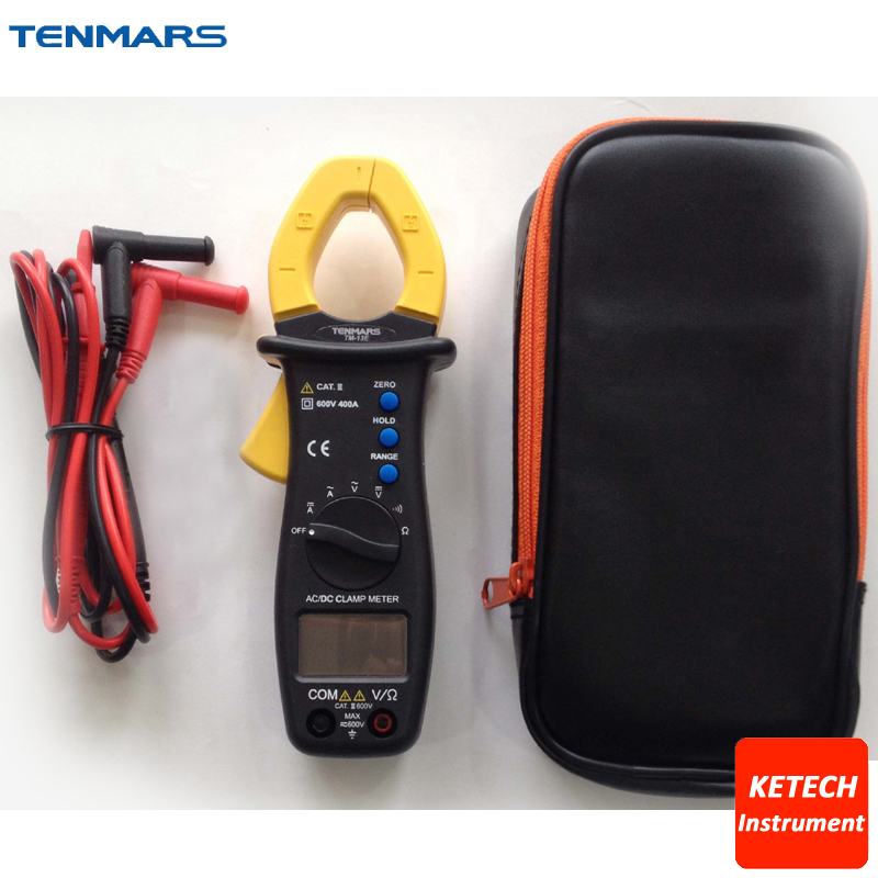 Data Hold and Range Hold Auto Zero 400A Autoranging AC/DC Clamp Meter TM13E ленточный зажим piher hold all strap clamp 30013