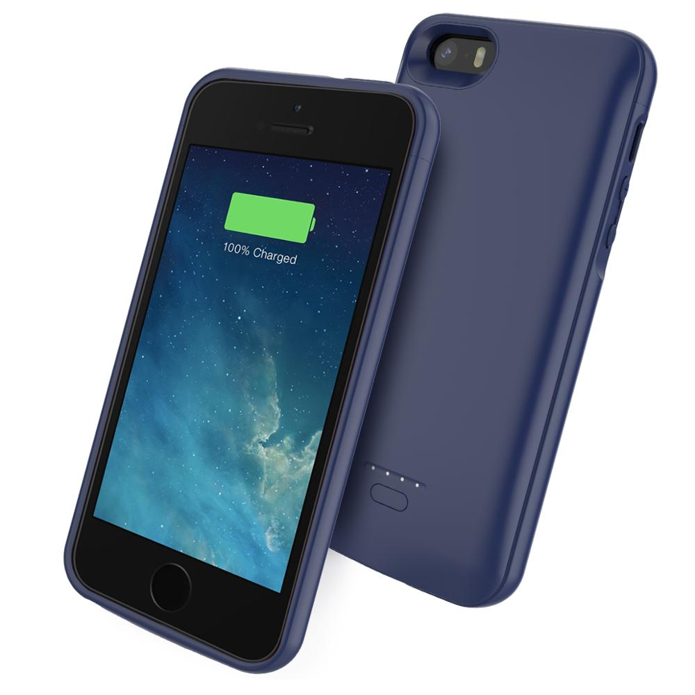 Voor Iphone 11 Se 5 5S Battery Charger Case 4000 Mah Externe Power Bank Opladen Cover Voor Iphone Xs 7 8 Plus 6 6S Batterij Case