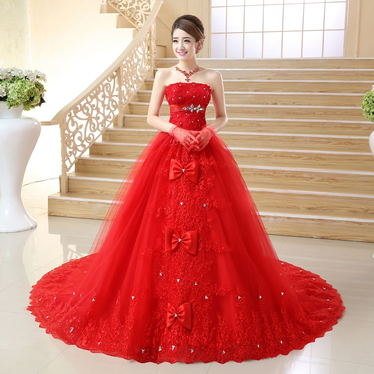 Popular bridal online store buy cheap bridal online store for Cheap red wedding dresses