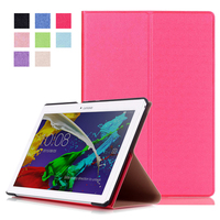 For Lenovo Tab 2 A10 30 X30F Case Magnet Stand Pu Leather Cover For Lenovo TAB
