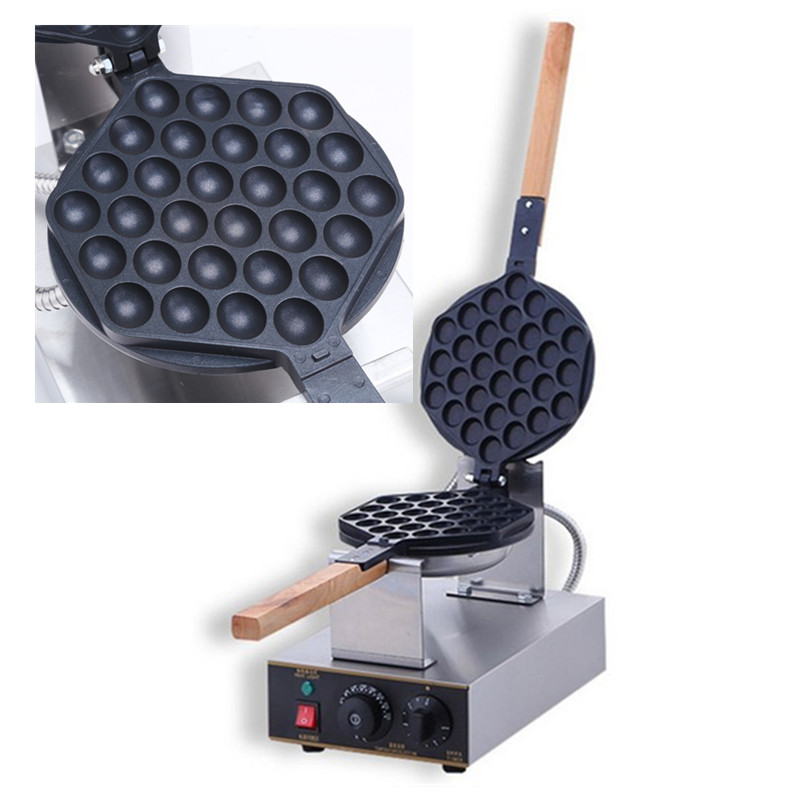 New Design 110V Electric Egg Cake Oven QQ Eggettes Waffle Maker Egg Waffle Machine Non-stick Mini Pancake Maker Machine s396