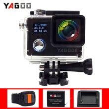 Camera Action Yagoo6 étanche Pleine Ultra HD 1080 P/30 fps WiFi 2.0 «170D Sport caméra sous-marine Casque Notavek caméscope