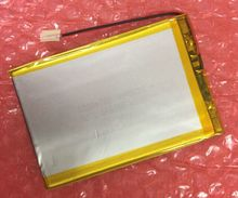 "Interiores Universal 3000 mah 3.7 V Batería Para 7 ""Hit 3G ht7070mg Digma HT7071MG/Hit 4G HT7074ML Polímero Tableta de Reemplazo del li-ion"