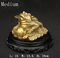 Pure Bronze and Gold Toadstoads Displayed A Three foot Golden Toads Shop Opening Gifts Home Decoration Accessories Zen Garden