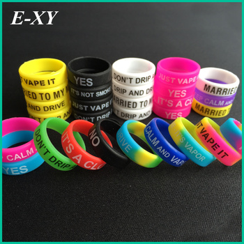 E-XY ecig silicon rubber Mod bands for mechanical mods rda Atomize decorative and protection resistance bands ring 100pcs/lot