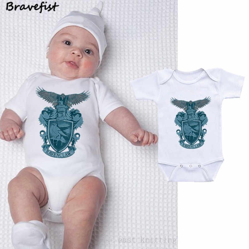 153991b67f ... Hot Sale Ravenclaw Newborn Bodysuits 0-24Months Summer Children Clothes For  Boys Girls Infant Jumpsuits ...