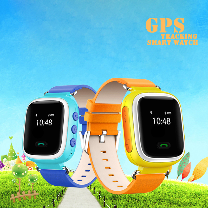 100% new gps child tracking smart bracelet smart watch for kids smartwatch app for iphone ios