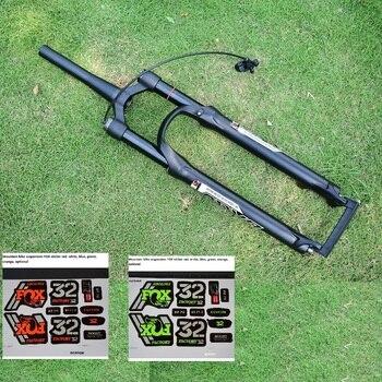 Free FOX sticker stroke 120MM MTB front fork air damping impact fork 1750g 26 27.5 29 bicycle suspension or plug SR SUNTOUR