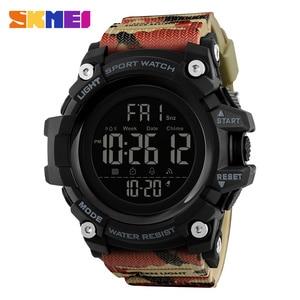 Image 4 - SKMEI Waterproof Men Sports Watches Luxury Brand Fashion Military Digital Watch LED Electronic Clock Men relogio masculino