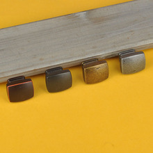 10Pcs 33*26mm,Antique Square Handle Single Hole Zinc Alloy With Screws Drawer Home Cabinet
