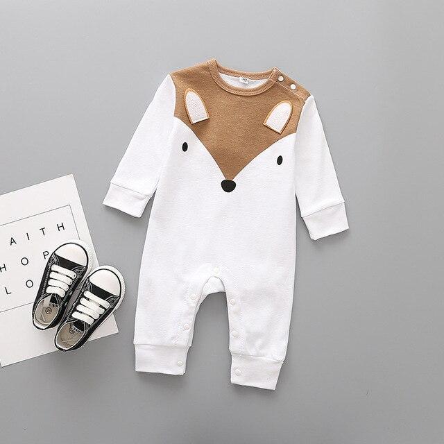 Newborn's Cute Animals Romper 4