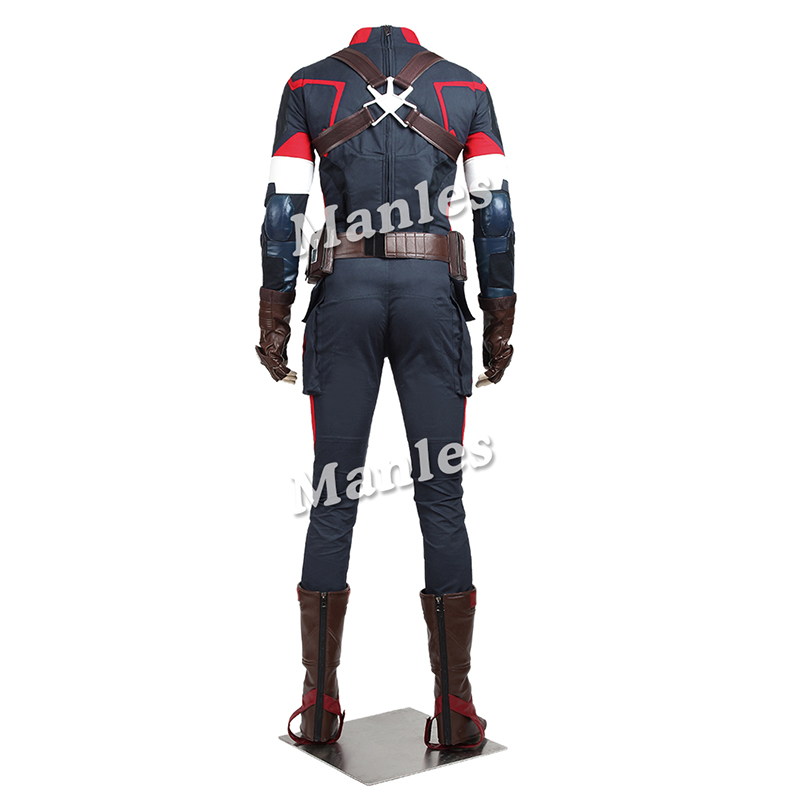 The Avengers Age of Ultron Captain America Cosplay Kostuum Steve - Carnavalskostuums - Foto 2
