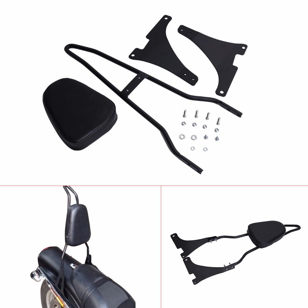 Detachable Sissy Bar Backrest Pad For Harley Davidson For Harley Sportster XL 883 1200 2004-UP C/5