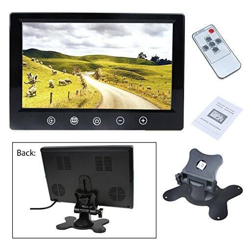9 Inch TFT LCD Color Screen Car RearView Mirror Monitor Support Two Auto Ways Widescreen Car