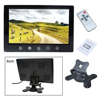 9 Inch TFT LCD Color Screen Car RearView Mirror Monitor Support Two Auto Ways Widescreen Car Rear View Monitor With Touch Button