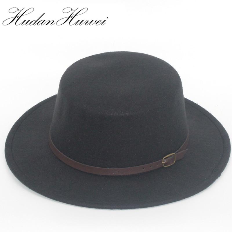 4bcc3219ef3 2017 NEW Fashion Vintage Men Women Fedoras Dome Hat Roll Brim Bowler Derby  Hat Unisex Headwear ...