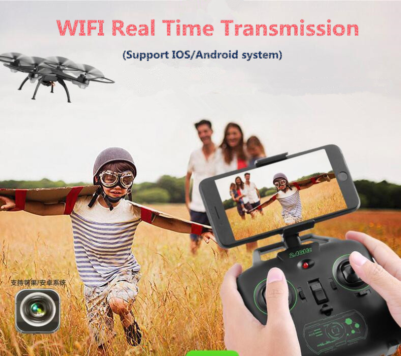 Hot 10HW 2.4G attitude hold dual control Professional WiFi FPV RC Drone with 720P Camera remote control quadcopter toy vs U845 hot kids rc toy mini drone t911w 2 4g 4ch wifi fpv remote control helicopter foldable with 0 3p wifi hd camera attitude hold